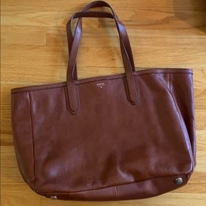 Fossil Sydney shopper Leather Tote